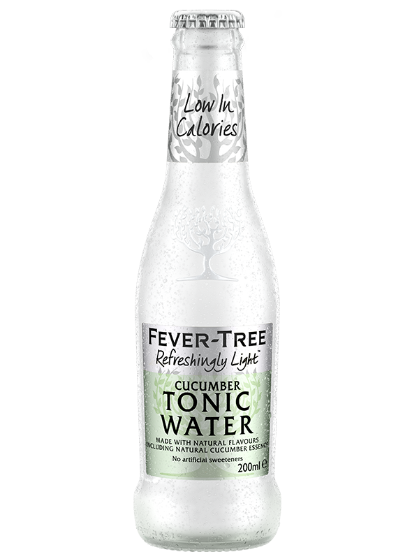 Refreshingly Light Cucumber Tonic Water
